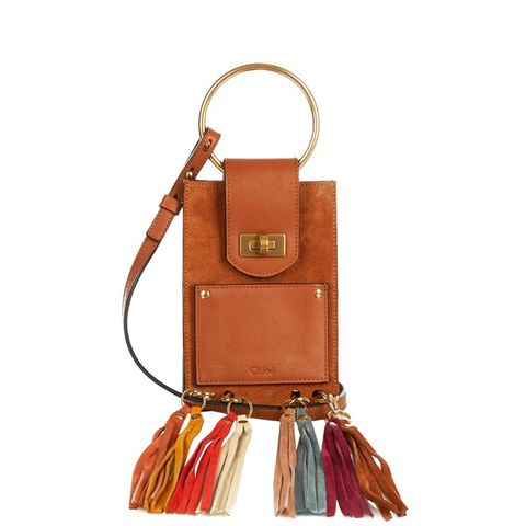Jane Mini Fringed Suede Bag