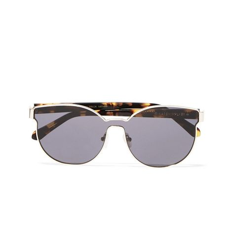 Star Sailor Square-Frame Gold-Plated and Acetate Sunglasses