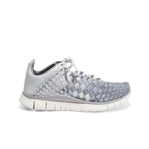 Free Inneva Leather-Trimmed Woven Sneakers