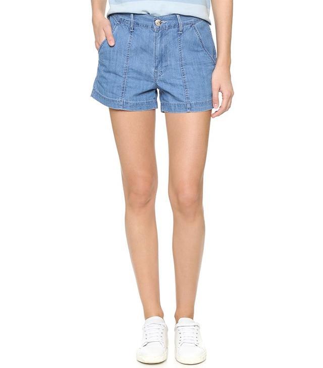 3x1 W2 Military Shorts
