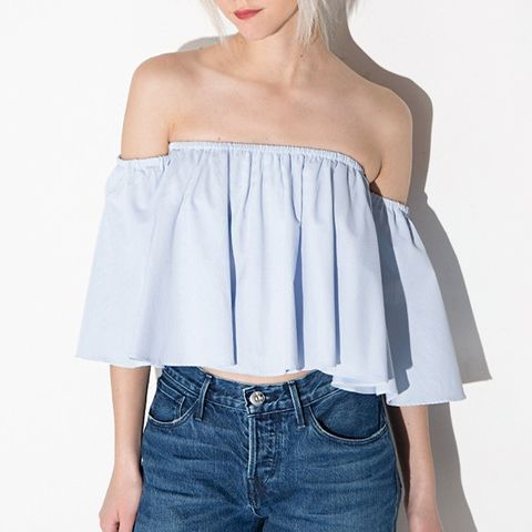 Crop Off the Shoulder Top