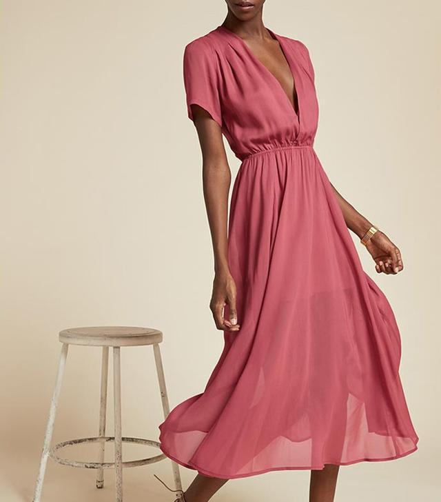Reformation Bluebell Dress