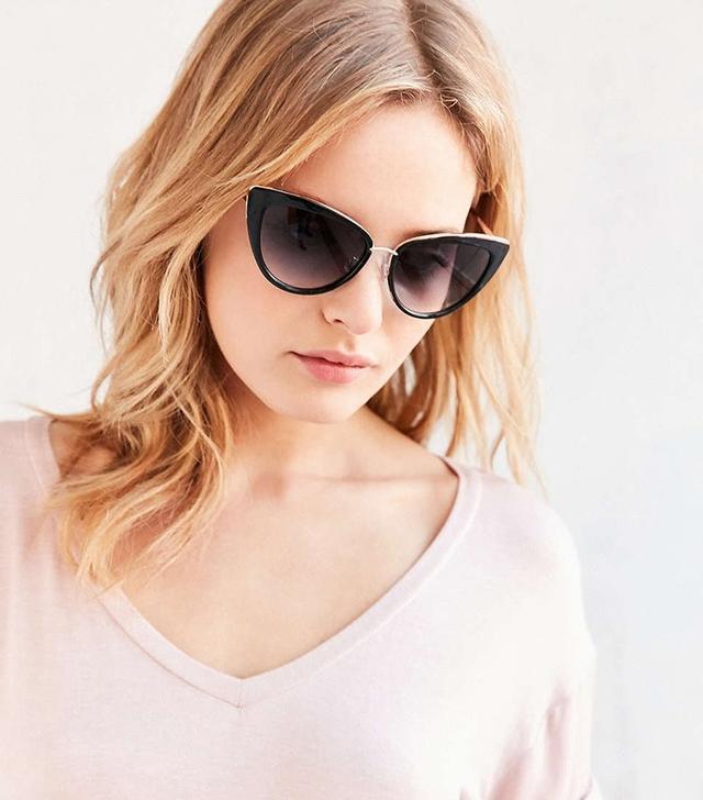 Girlfriend Cat-Eye Sunglasses