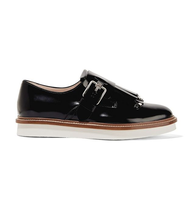 Tod's Glossed Leather Brogues