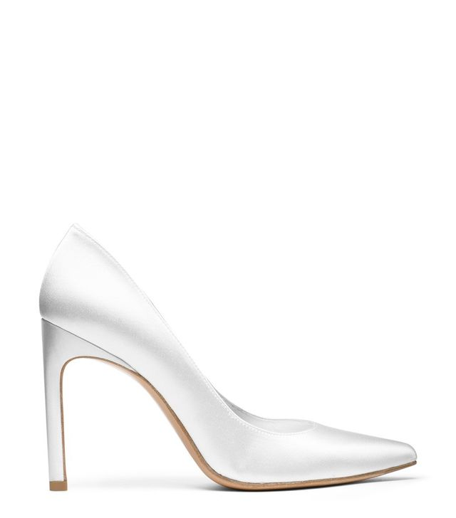 stuart weitzman wedding shoes stuart weitzman just created a pretty shoe for every 7786