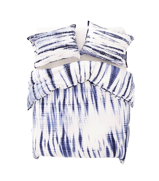 Urban Outfitters Shibori Streak Jersey Duvet Cover
