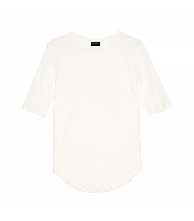 Who What Wear Linen Tee