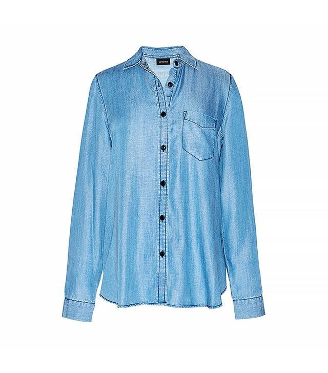Who What Wear Chambray Shirt