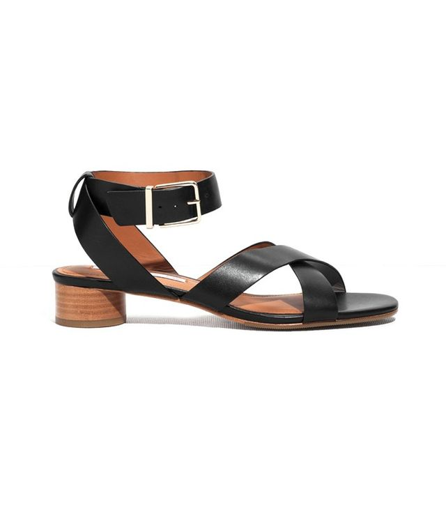 & Other Stories Rounded Heel Ankle Strap Sandals