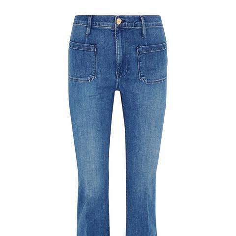 Le Bardot Flare High-Rise Jeans