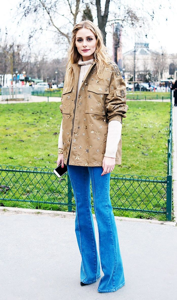 6 Outfits That Prove Flared Jeans Are Easy to Pull Off | Who What Wear