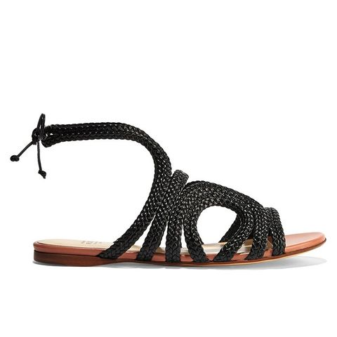 Braided Leather Sandals