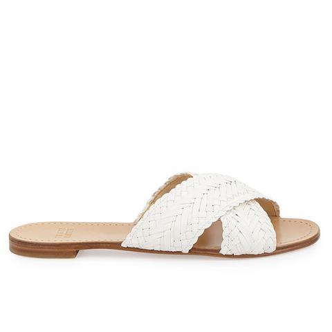 Braidaway Crisscross Sandal Slide, Lily