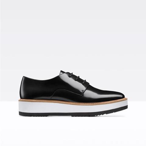 Reed Platform Leather Loafer
