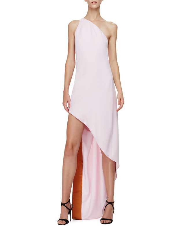 Narciso Rodriguez Asymmetric One-Shoulder Dress