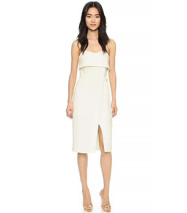 Alexis Rafaeli Strapless Short Dress