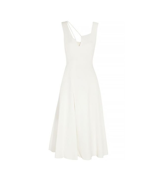 Victoria Beckham Flare Crepe Dress