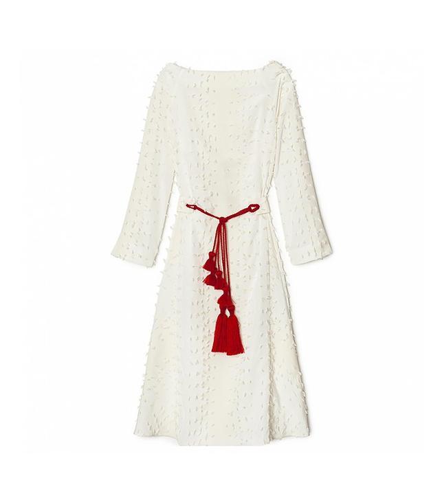 Trademark Tassel Belt Dress