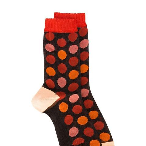 Polka-Dot Socks