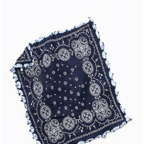 Heirloom Embroidered Bandana