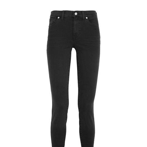 High Riser Skinny Jeans