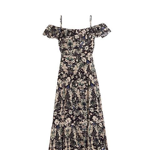 Yonelia Off-the-Shoulder Midi Dress