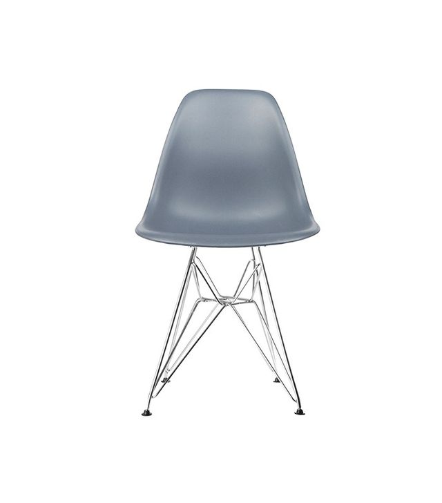 Poly+Bark Eames Style Molded Plastic Eiffel Side Chair (DSR) Set of 2