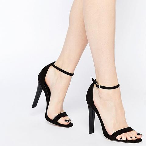 Harness Heeled Sandals