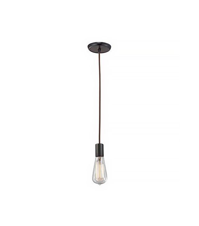 Shades of Light Vintage Industrial Exposed Bulb Pendant