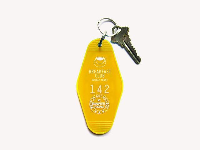 Three Potato Four Breakfast Club Key Tag