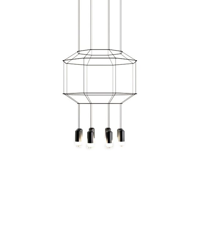Vibia Wireflow 3D Octagonal Pendant Light