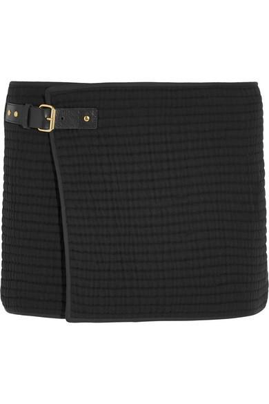 Isabel Marant Gael Wrap-Effect Mini Skirt
