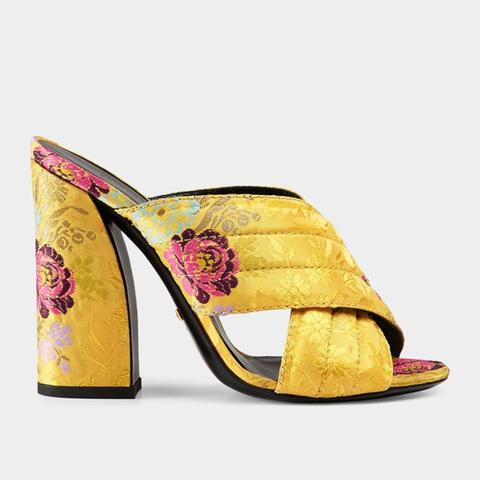 Flower Fil Coupé Crossover Sandal