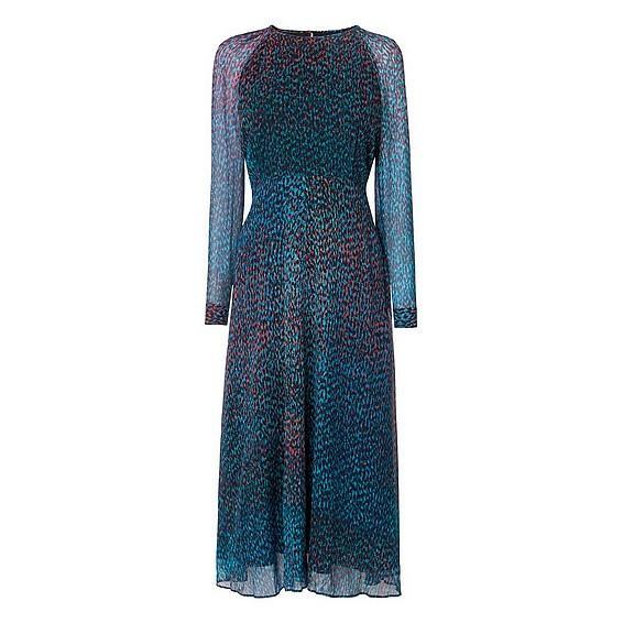 L.K.Bennett Addison Printed Silk Dress