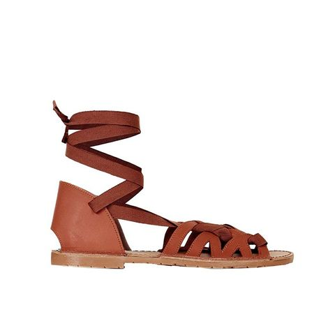 Freya Lace-Up Sandals