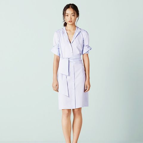 Brunswick Integrated Wrap Shirt Dress