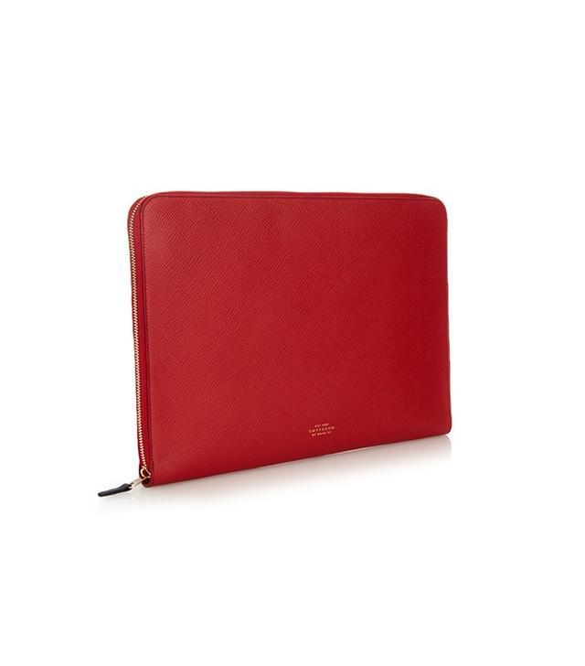 Smythson Panama Laptop Case