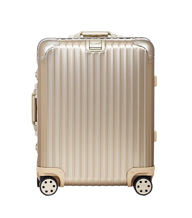 """Rimowa Topas Titanium 22"""" Cabin Multiwheel Suitcase"""