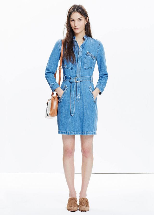 Madewell x Daryl K Cecilia Denim Dress