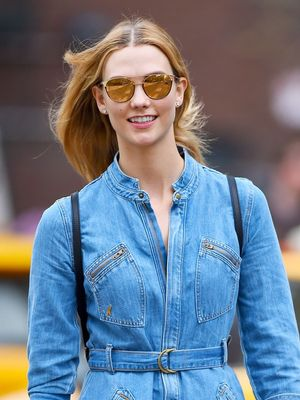 This Denim Dress Comes With an Official A-List Following