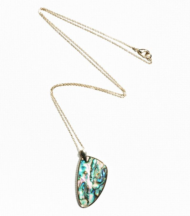 & Other Stories Iridescent Shell Necklace
