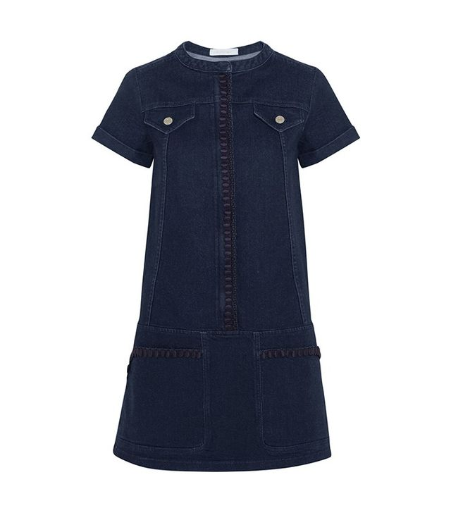 See by Chloé Embroidered Dress
