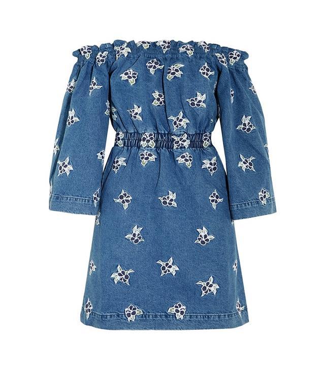 House of Holland Denim Mini Dress