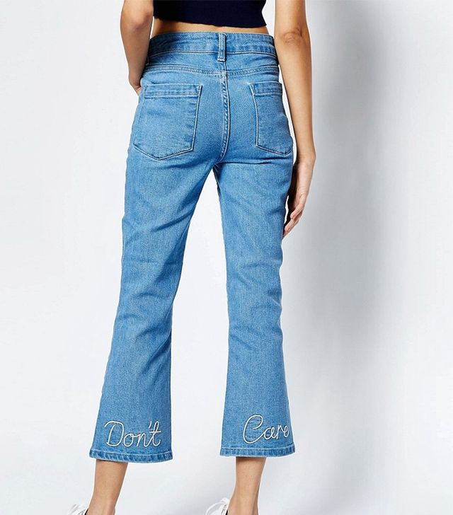 ASOS See You Never Kick Flare