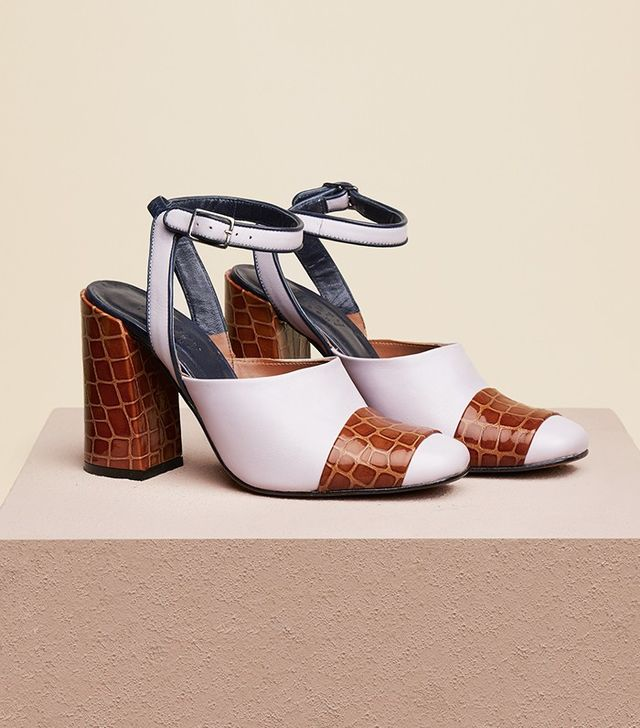 Finery Chryssel Closed Toe Ankle Strap Sandals