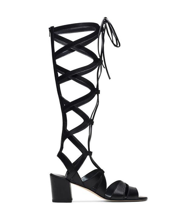 Stuart Weitzman Grecian Sandals