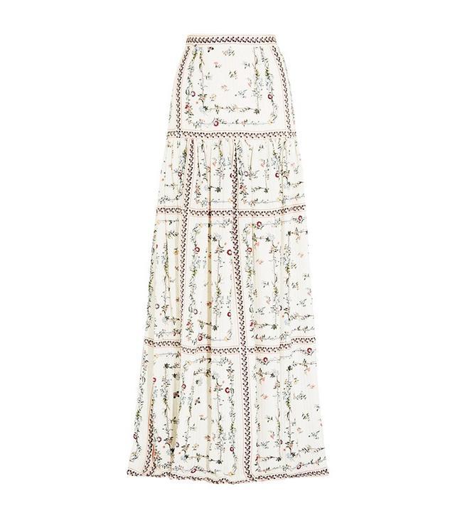 Vilshenko Susi Silk Maxi Skirt