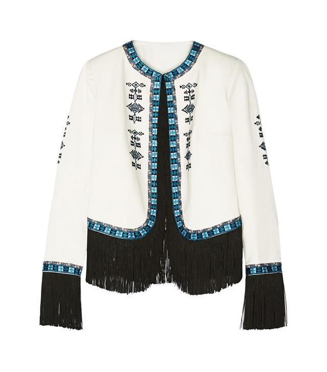 Talitha Zoe Fringed Jacket