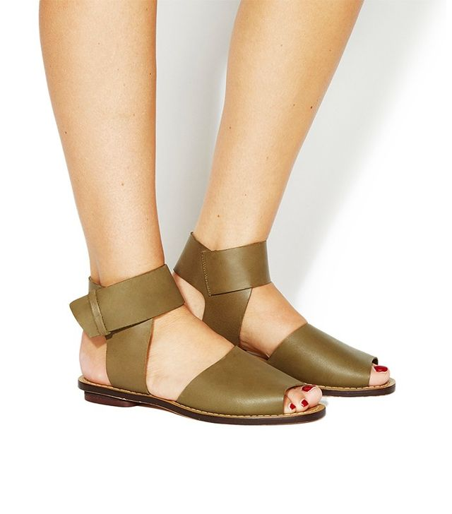 Office Beyond Square Toe Sandals