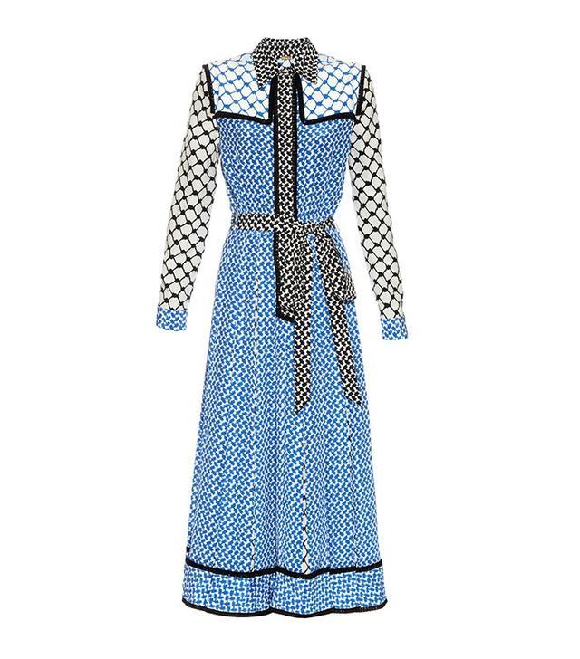 Dodo Bar Or Silk Crepe Maxi Dress